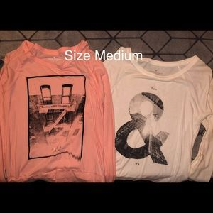 American egale really soft long sleeve tees